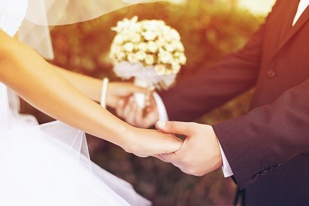 small-wedding rings